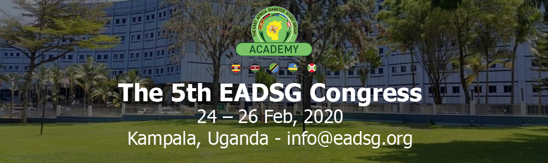 The 5th EADSG Congress 24 – 26 Feb, 2020 Kampala, Uganda - info@eadsg.org